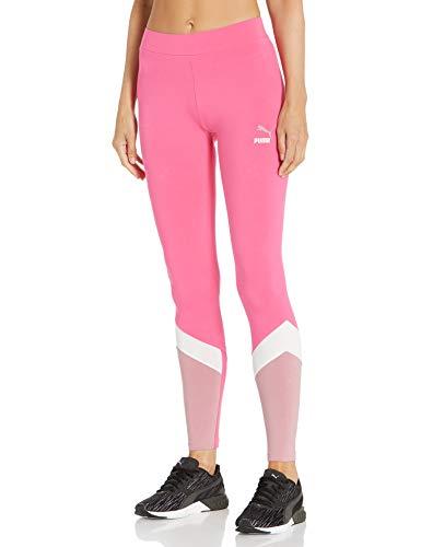 PUMA Damen Essentials Leggings, Rosa (Glowing Pink), Groß