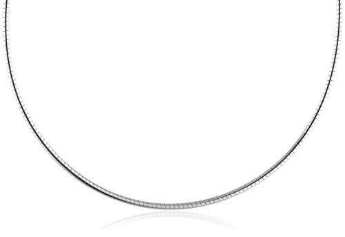 InCollections Damen-Halsreif 925/000 Sterlingsilber Omega 1,4/42 cm