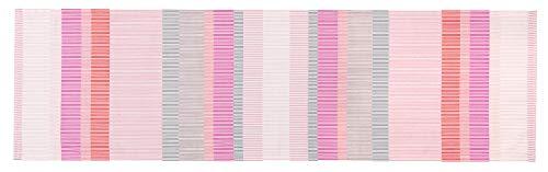 ESPRIT Tischläufer Tischdecke Tischband Mitteldecke Tischband Tischtuch - Größe 40 x 140 cm - Farben: bunt/Mint/lachs/blau/pink