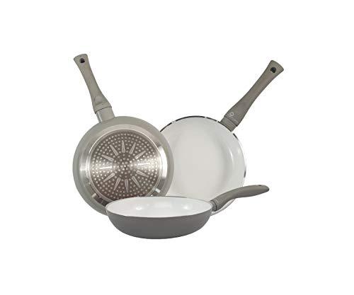 Sarten Ceramica Induccion – 20 cm Mango Ergonomico – Aluminio