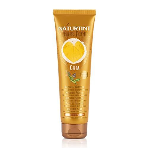 Naturtint Hair Food Chia Mask | Mascarilla Capilar Protección. Protege y Repara los Cabellos Maltratados. 99% Ingredientes Naturales. 150ml
