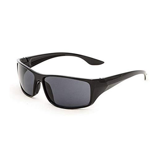 Newgreeny 5380 - Gafas de sol deportivas para hombre, color amarillo