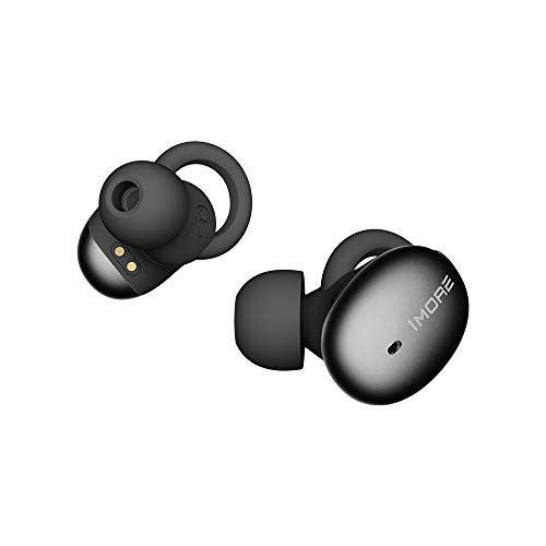 1MORE Stylish True Wireless in-Ear Headphones TWS Bluetooth Wireless Earphones Mini Earbuds with DSP ENC, Phone/Volume Control, Lightweight Portable, Charging Case, 7.5H Battery, MEMS Mic - Black