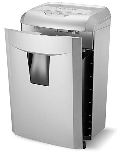 Home Office Shredder,Card Cutter,Electric Shredder Strip Cut Shredding Card Document Large 25 Litre Bin Machine Home Office 15-Minute Heavy Duty Continuous Run Time
