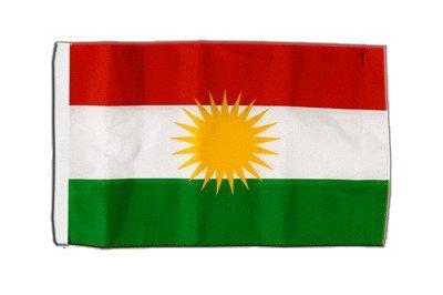 Flaggenfritze® Flagge Kurdistan - 30 x 45 cm