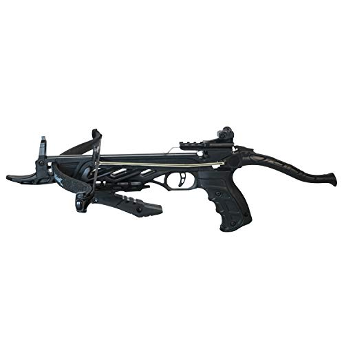 Southland Archery Supply 80 Pound Self-Cocking Pistol Crossbow (Pistol Crossbow with Grip)