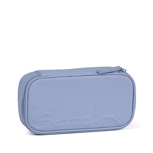 Satch Schlamperbox - Mäppchen groß, Trennfach, Geodreieck - Be Bold - Hellblau