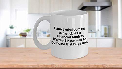 11 oz Coffee Mug, Tea Cup, Financial Analyst Coffee Mug Funny Gift for Chartered Data Office Analyst