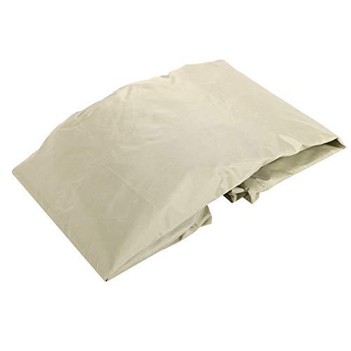 Protector impermeable del calentador del patio, cubierta del calentador del patio, diseño elástico para el patio del toldo(Beige, 81.5 * 225cm)