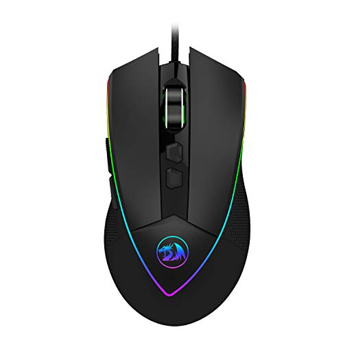 Redragon M909 USB Wired Gaming Mouse RGB Spectrum Backlit...