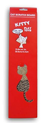 Regent Kitty Play Toys Kratzbrett für Katzen, 39 x 10 cm