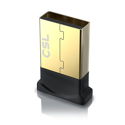 CSL - USB Nano Bluetooth-Adapter V4.0 - Bluetooth Dongle Class 4.0 Technologie - Plug and Play - Windows 10 fähig