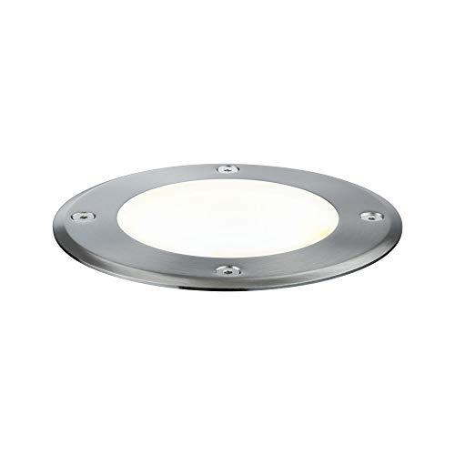 Paulmann 939.07 Outdoor Plug & Shine Bodeneinbauleuchte 3000K 6W 24V Ausstrahlwinkel 20° Schwenkbar 93907 LED Einbaustrahler Aussen