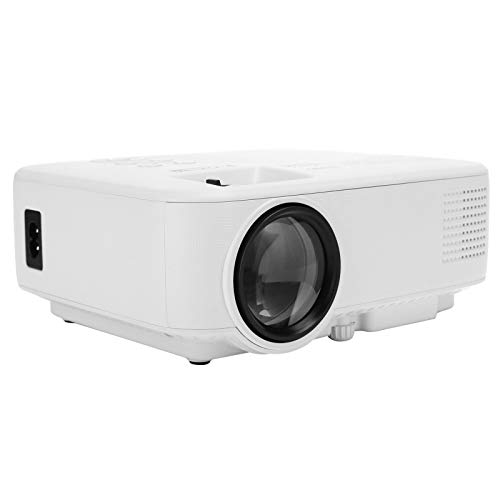 Mini Projector,New 1080P HD Home Office Projector,Portable Multi-Function Smart Projector,Direct Projection During The Day,Compatible With TV/PC/Android/IOS(UK)