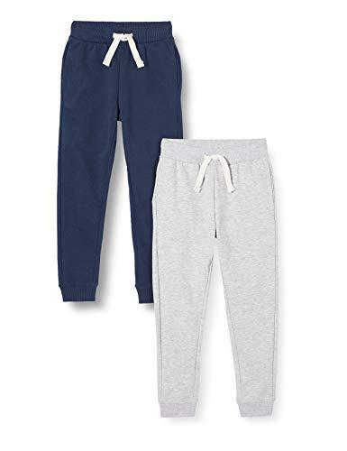 ZIPPY Pack de 2 Pantalones Fleece SS20, Dress Blue 19/4024 TC, 13/14 para Niños