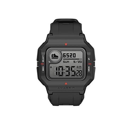 Amazfit Neo Smartwatch Retro-Design Fitness Armband mit Pulsuhren Fitness Tracker Wasserdicht 5 ATM Fitnessuhr Sportuhr Schrittzähler für Android und ios Smart Handy