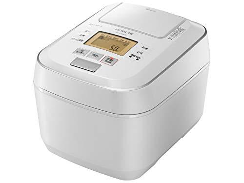 日立 圧力スチームIHジャー炊飯器(5.5合炊き) パールホワイトHITACHI 圧力スチーム ふっくら御膳 RZ-V100CM-W