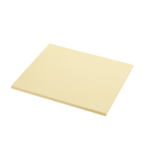 KIBOW 14'X 16' Rectangular Cordierite Ceramic Pizza Grilling Stone for Ovens & Grills