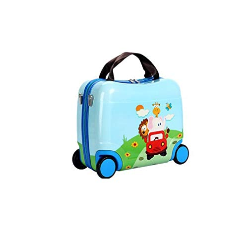 Mdsfe 2020 Hot Children's Travel Bag Multifunctional Cute Children Bags Portable Riding Box New Traveling Luggage Bags Luggage - 95 cars, 16'