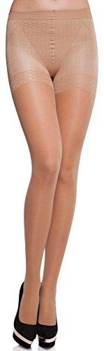 Merry Style Damen figurformende Strumpfhose MS 128 40 DEN (Melisa, M (36-40))