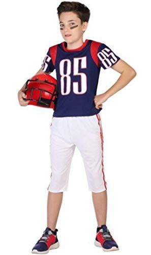 ATOSA disfraz jugador rugby niño infantil 10 a 12 años