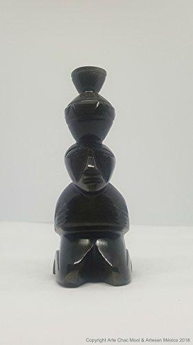 Figuras Teotihuacanas Obsidiana (Varios Modelos)