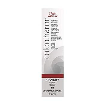 WELLA Color Charm Permanent Gel Hair Color 6RV