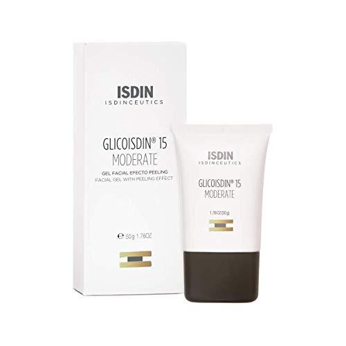 Isdinceutics Glicoisdin 15 Moderate, Gel Facial Efecto Peeling con Ácido Glicólico, 50 ml
