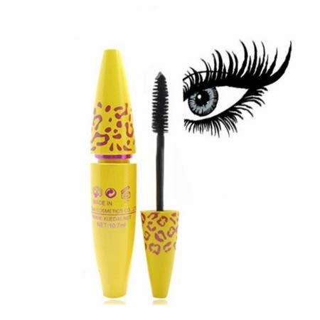 PNLD Mascara Einzelne Locken Wimpernverlängerung Colossal Mascara Volume Express Makeup 1pc Schwarze Tinte 3D Fiber Lashes (Farbe : 1pcs)