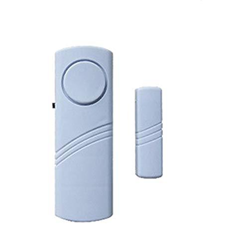 Alarma antirrobo simple de la puerta y la ventana del hogar alarma de seguridad inalámbrica magnética activada alarma de la puerta para la seguridad del hogar