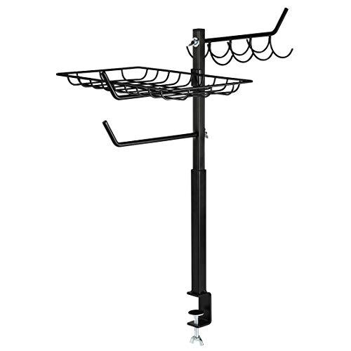 Xavax Organiseur d'accessoires pour barbecue, ajus. en haut., 60 à 72 cm, nr