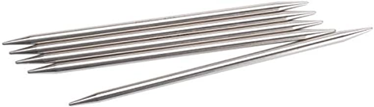 ChiaoGoo Red Double Point 6 inch (15cm) Stainless Steel Knitting Needle Size US 1 (2.25mm) 6006-1