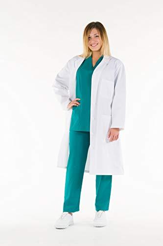 camisas Algodón para mujer, Color blanco, Taglia 46, Bianco, 1 ⭐