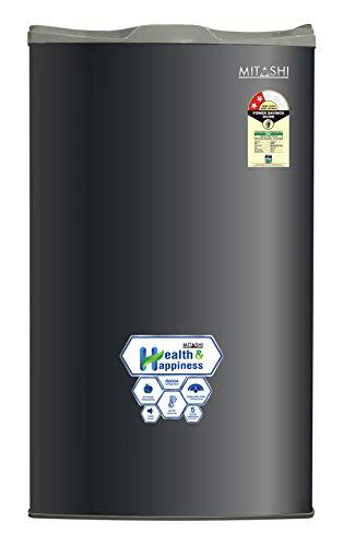Mitashi 100 L 2 Star ( 2019 ) Direct-Cool Single Door Refrigerator (MSD100RF200, Grey)