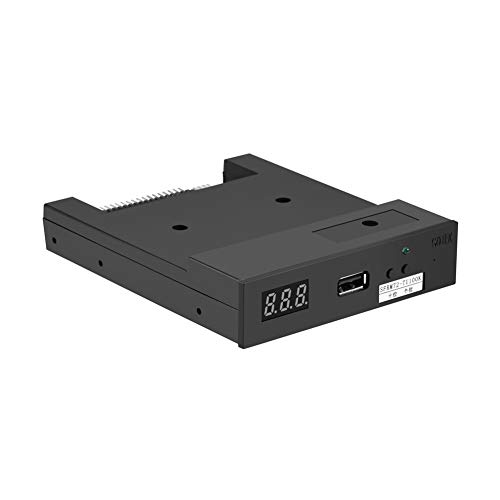 Bewinner USB Floppy Emulator, SFRM72-TU100K 3,5 Zoll USB 720KB Floppy Emulator für Industrielle Steuergeräte, Plug and Play Funktion, Integrierter Speicher zum Speichern von Daten und Konvertieren