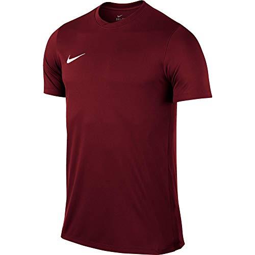 Nike Park VI, T-shirt, Uomo, Rosso (Team Red/White), S
