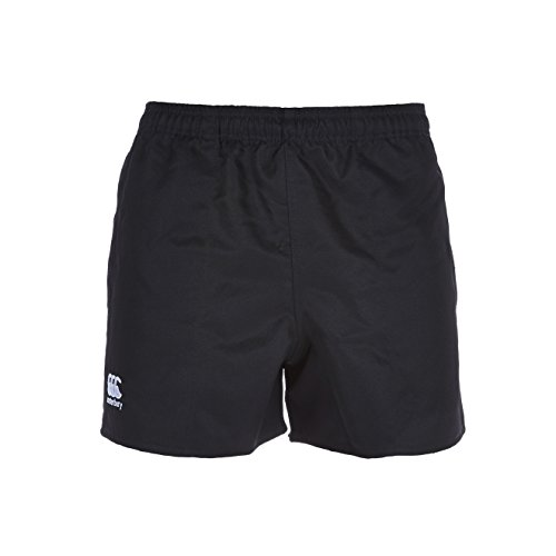 Canterbury Professional Polyester Rugby Short Homme, Noir, FR (Taille Fabricant : 4XL)