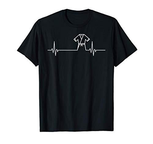 Karate Heartbeat Pulse - Funny Karate Fighter Maglietta