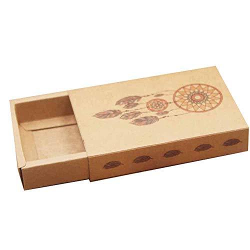 Geschenkdoos BLTLYX Multi Print Geschenkpakket Doos Bloemontwerp Snoep/bruiloft/zeep Schuifdoos/diy Dank u Geschenkdoos 10st 10box10inner kaart 9 doos als foto