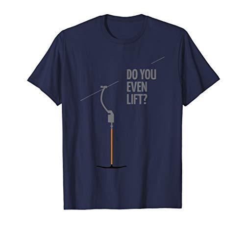 Skilift Skigebiet Apres Ski Outfit Schlepplift Retro Lift T-Shirt