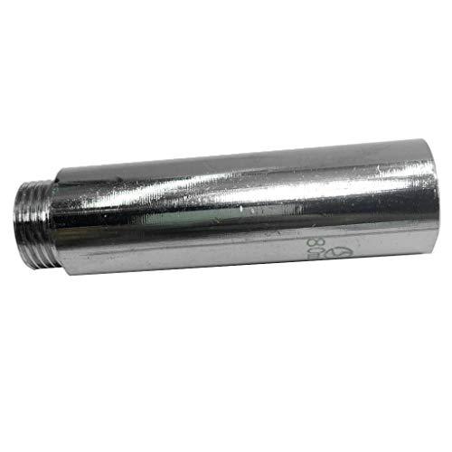 non-brand - Adaptador de conexión de latón con Conector de Aceite y Agua con Rosca Macho y Junta alargadora de Cable Interior y Exterior 20 mm
