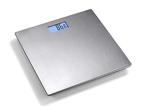 BINGFANG-W Discs Waage Badezimmer-Waage, intelligenter Haushalt elektronische Digital-Gewicht-Balance mit LCD Beleuchtetes Display, 180Kg / 400LB Abrasive