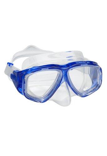 Speedo Unisex-Adult Adventure Swim Mask Blue, One Size