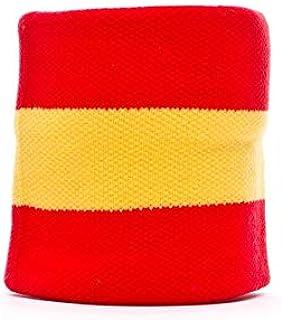 SP Fútbol España, Muñequera, Rojo-Amarillo: Amazon.es: Deportes y ...