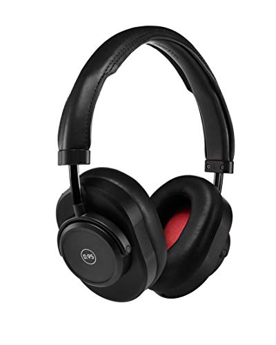 Master & Dynamic MW65 Active Noise-Cancelling (ANC) Wireless Headphones – Bluetooth Over-Ear Headphones with Mic, Leica -Black