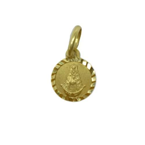 Medalla Oro de 18 Klts de Bebé J. Luis JC-J.L-MED-034 (Virgen del Rocío)