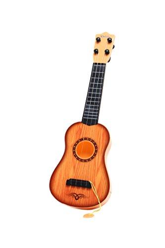 Pinzhi Enfant Guitare Jouet Guitare Marron
