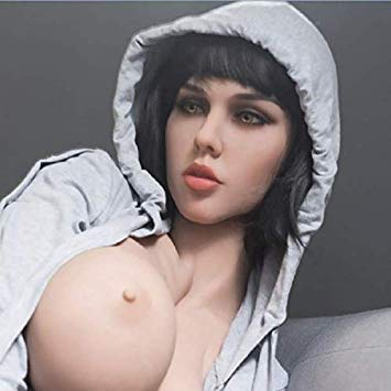 Brunette AILIJIA Oral Sex Doll Head with m16 Connector