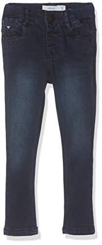 NAME IT Baby-Mädchen Nmfpolly Dnmtrilla 3250 Pant Jeans, Blau (Dark Blue Denim Dark Blue Denim), (Herstellergröße: 92)