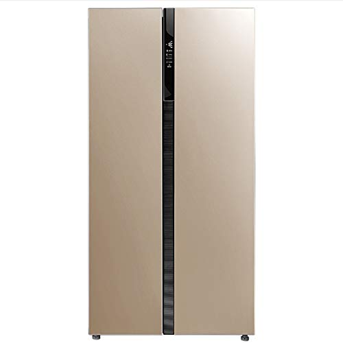 Koelkast 2-lagen-dubbele deur, huishouden, energiebesparende koelkast en vriezer, roestvrijstalen koeler, verwarming en koeling mineraalwater, dranken, koffie, fruit- en groenteconservering, opslagkoelkraan